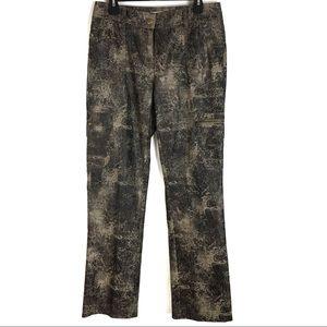 Bamboo Traders Sz 8 Pants Snakeskin Multi Pocket